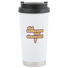 Someone Say Ahnentafel? Travel Mug