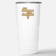 Someone Say Ahnentafel? Travel Mug