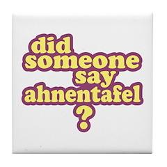 Someone Say Ahnentafel? Tile Coaster