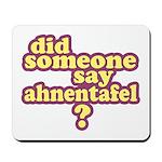 Someone Say Ahnentafel? Mousepad