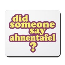 Someone Say Ahnentafel? Mousepad