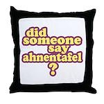 Someone Say Ahnentafel? Throw Pillow