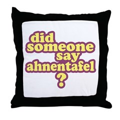 Someone Say Ahnentafel? Throw Pillow