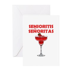 Senioritis Señoritas Greeting Cards (Pk of 20)
