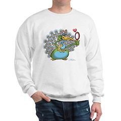 Pretty/Ugly Peacock Sweatshirt
