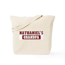 Nathaniels Grandpa Tote Bag