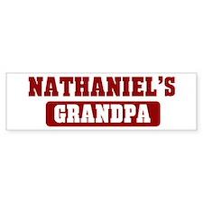 Nathaniels Grandpa Bumper Bumper Sticker