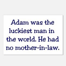"""Adam"" Funny Christian Joke Postcards (Package of"