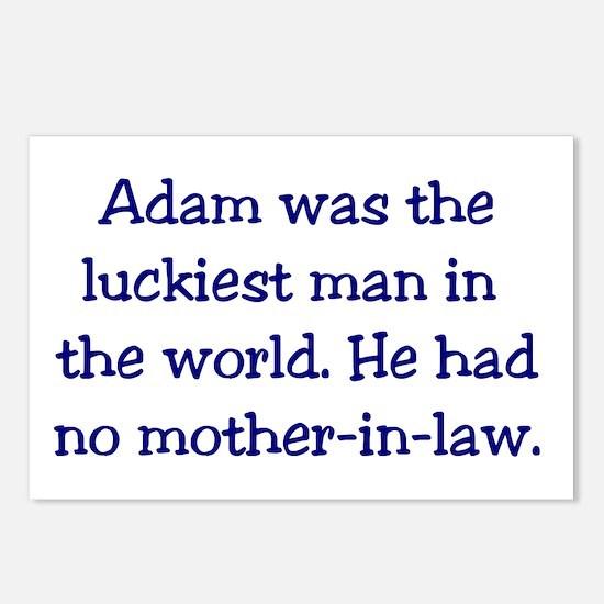 """Adam"" Funny Christian Joke Postcards (Package of"