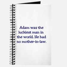 """Adam"" Funny Christian Joke Journal"