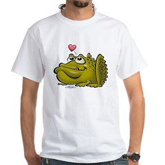 Pretty/Ugly Toad White T-Shirt