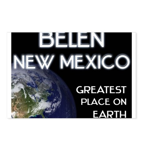belen new mexico - greatest place on earth Postcar