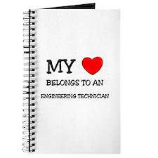 My Heart Belongs To An ENGINEERING TECHNICIAN Jour