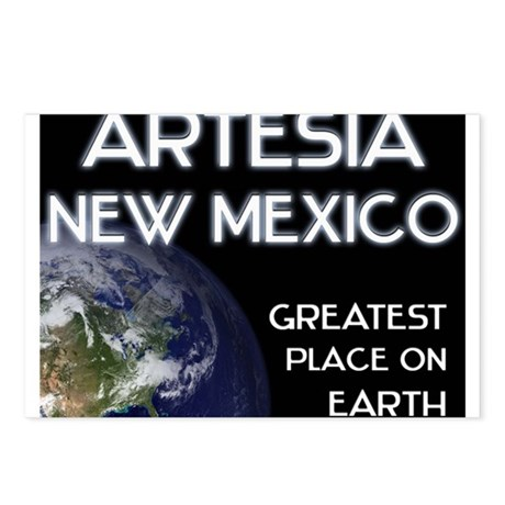 artesia new mexico - greatest place on earth Postc