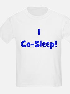 I Co-Sleep! - Multiple Color Kids T-Shirt