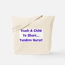 Tandem Nurse - Multiple Color Tote Bag