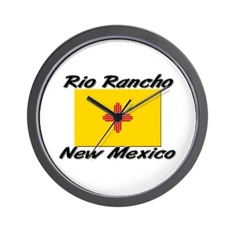 Rio Rancho New Mexico Wall Clock