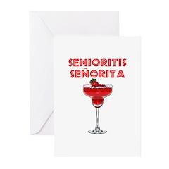 Senioritis Señorita Greeting Cards (Pk of 20)