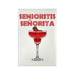 Senioritis Señorita Rectangle Magnet (10 pack)