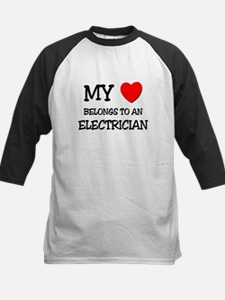 My Heart Belongs To An ELECTRICIAN Tee