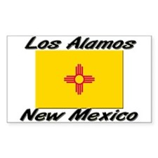 Los Alamos New Mexico Rectangle Decal