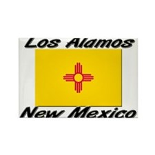 Los Alamos New Mexico Rectangle Magnet
