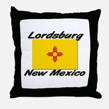 Lordsburg New Mexico Throw Pillow