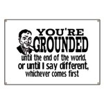 You're Grounded! Banner