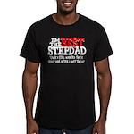Best Stepfather Men's Fitted T-Shirt (dark)