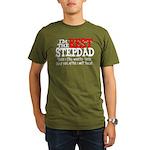 Best Stepfather Organic Men's T-Shirt (dark)