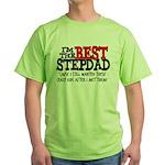 Best Stepfather Green T-Shirt