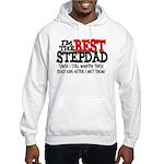 Best Stepfather Hooded Sweatshirt