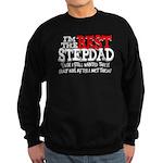 Best Stepfather Sweatshirt (dark)