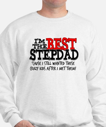 Best Stepfather Sweatshirt