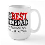 Best Stepfather Large Mug