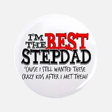 """Best Stepfather 3.5"""" Button"""