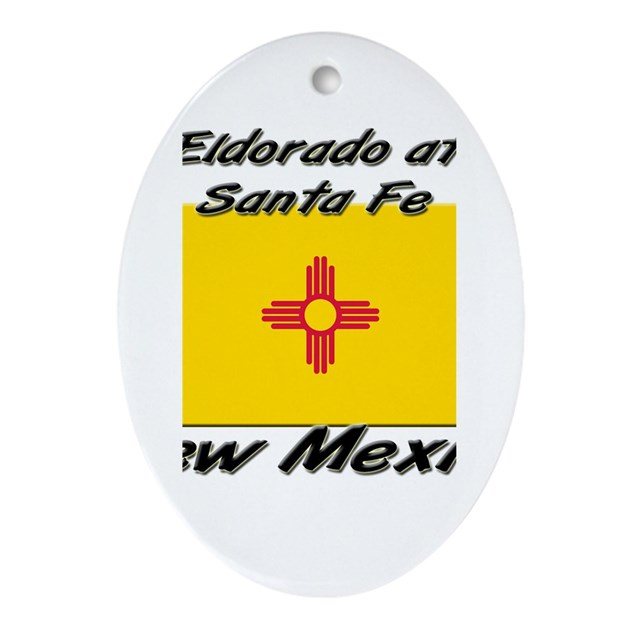 Eyeglass Frames Santa Fe Nm : Eldorado At Santa Fe New Mexico Oval Ornament by ilovecities