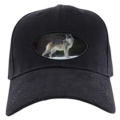 """Timber Wolf"" Black Cap"