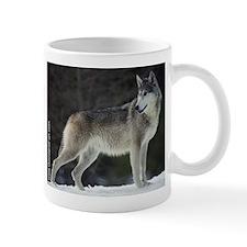"""Timber Wolf"" Mug"