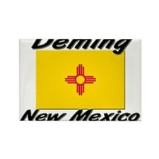 Deming New Mexico Rectangle Magnet