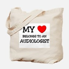 My Heart Belongs To An AUDIOLOGIST Tote Bag