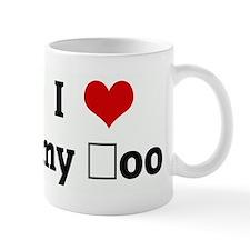 I Love my şoo Mug