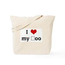 I Love my şoo Tote Bag