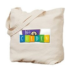 Life's Golden Retro Tote Bag