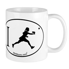 i Tennis Small Mug