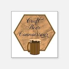 Craft Beer Connoisseur Sticker
