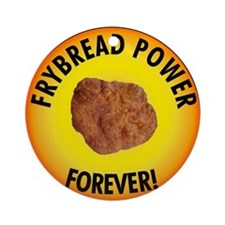 Frybread Power Ornament (Round)