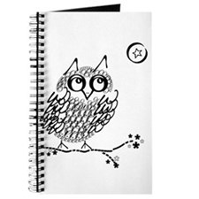 Cute Owl on limb Journal