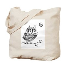 Cute Owl limb Tote Bag