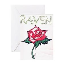 Raven Shop Greeting Card